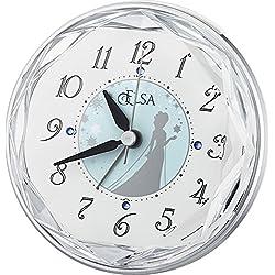 DISNEY / Elsa Frozen (Rhythm clock) Princess Series electronic sound alarm 4SE546MA04