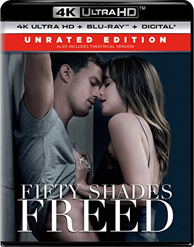 4K Blu-ray : Fifty Shades Freed (With Blu-Ray, 4K Mastering, Digital Theater System, Unrated Version, 2PC)