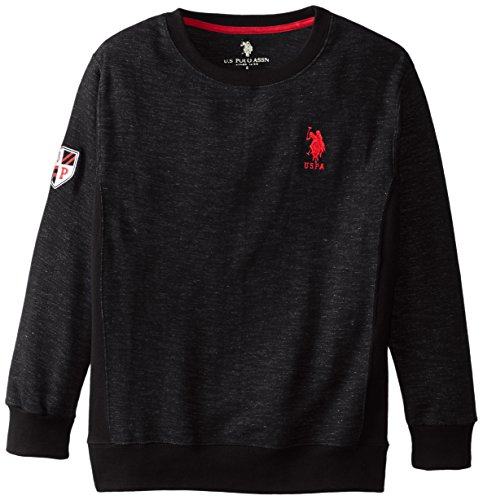 us-polo-assn-big-boys-space-dyed-french-terry-fashion-crew-neck-pullover