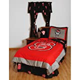 College Covers North Carolina State Wolfpack Bed in a Bag Queen - With Team Colored Sheets