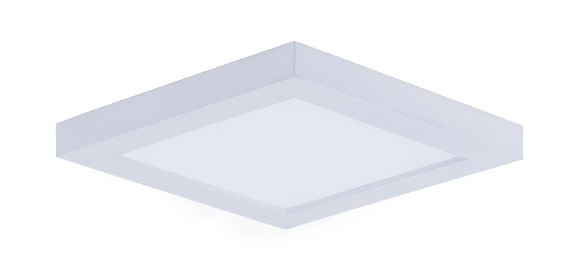 Maxim 57720WTWT Wafer LED Flush Mount Outdoor Flush Mount, White Finish, White Glass, PCB LED Bulb , 18W Max., Wet Safety Rating, 2700K Color Temp, Shade Material, 1355 Rated Lumens