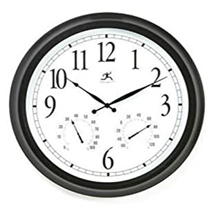 Outdoor large atomic wall clock accurate for Garden treasures pool clock
