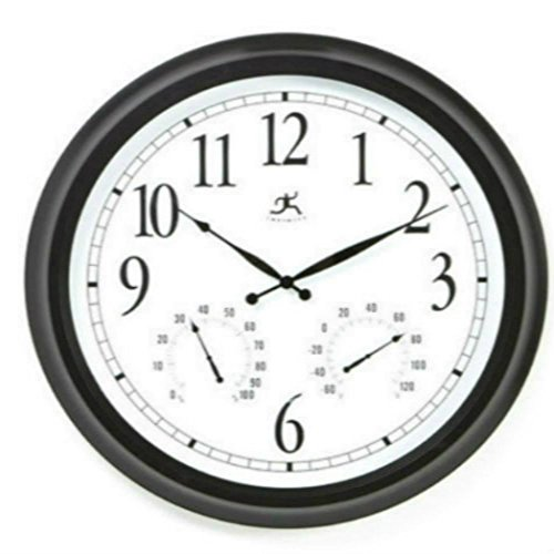 Outdoor Large Atomic Wall Clock Accurate Indoor