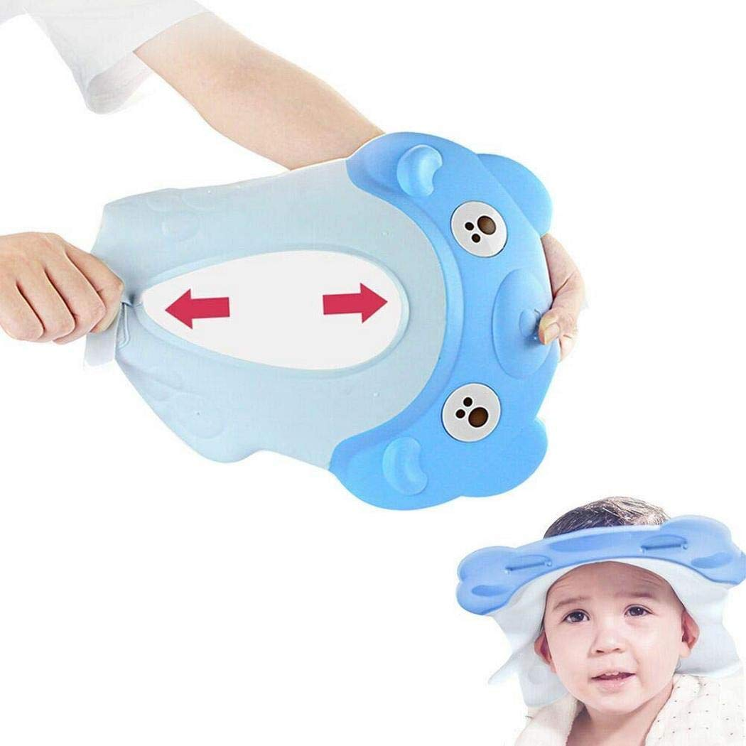 Bath Shower Visor Protection Soft Cap for Shower and Bath Time Safety for Toddlers, Baby and Children [1 Year Old+ Recommended]