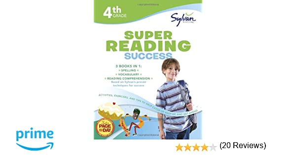 Amazon.com: 4th Grade Super Reading Success: Activities, Exercises ...
