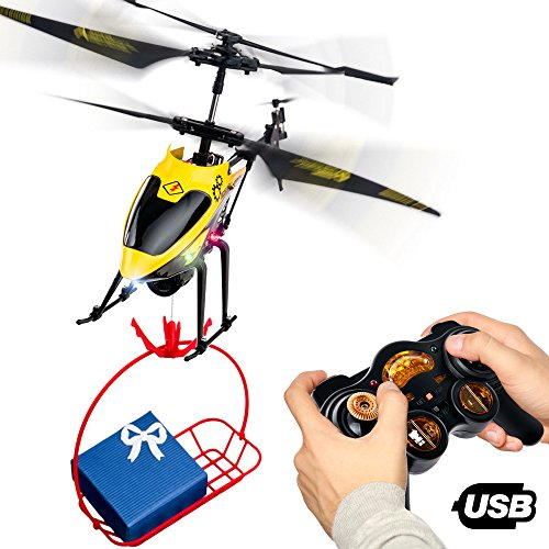 RC Remote Control Helicopter Gifts for Teenagers Boys Girls | 3CH Channel...