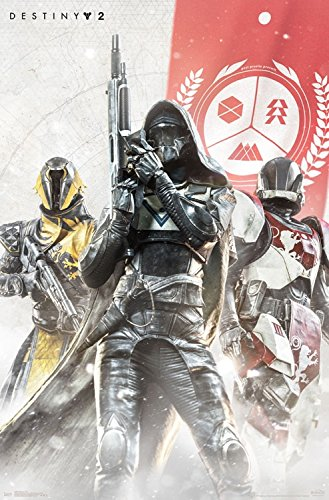 International Video (Trends International Wall Poster Destiny 2 Trio, 22.375