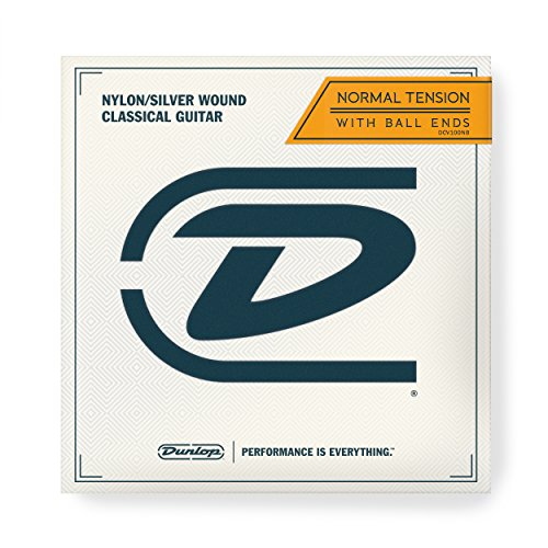 Dunlop Performance Nylon Ball End Classical Guitar Strings (DCV100NB)