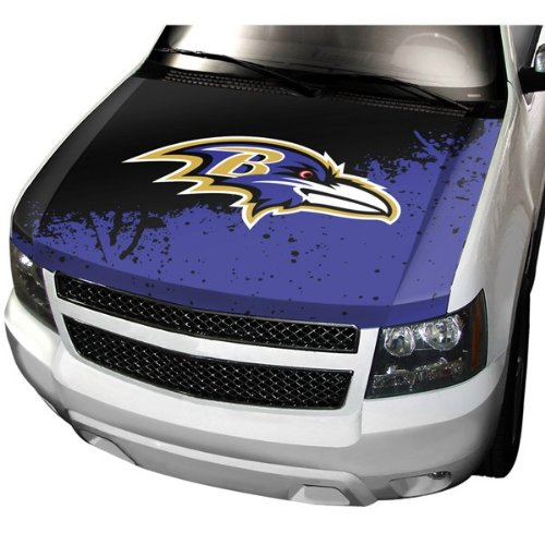 Team ProMark NFL Baltimore Ravens Auto Hood Cover