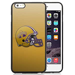 Beautiful Designed With NCAA Colonial Athletic Association CAA Football Albany Great Danes 6 Protective Cell Phone Hardshell Cover Case For iPhone 6 Plus 5.5 Inch Black