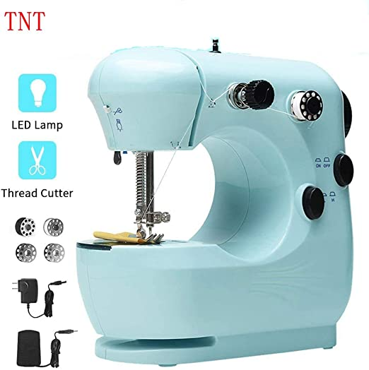 Máquina de coser para principiantes, máquina de coser portátil ...