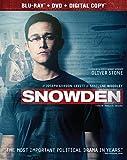Snowden [Blu-ray + DVD + Digital HD]