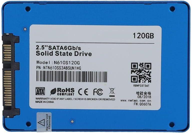 tonysa 2.5 Pulgadas SATA III 6Gbps SDD Disco Duro Interno SDD 120G / SSD 240G, SDD Interno Portátil Interfaz SATA3 Gran Capacidad Transmisión rápida de Datos para PC/Laptop(120G): Amazon.es: Electrónica