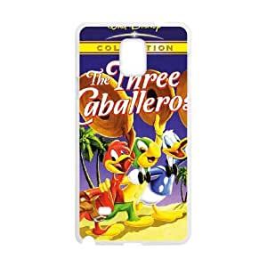 Samsung Galaxy Note 4 Cell Phone Case Covers White Three Caballeros Phone cover T7409309