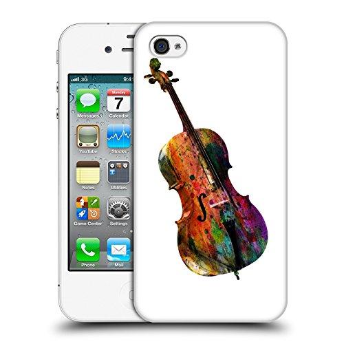 Officiel Mark Ashkenazi Chello Musique Étui Coque D'Arrière Rigide Pour Apple iPhone 4 / 4S