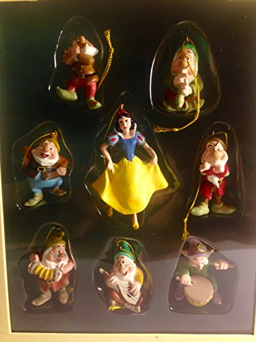 Snow White Storybook Ornament Set of 8 Older Released ()
