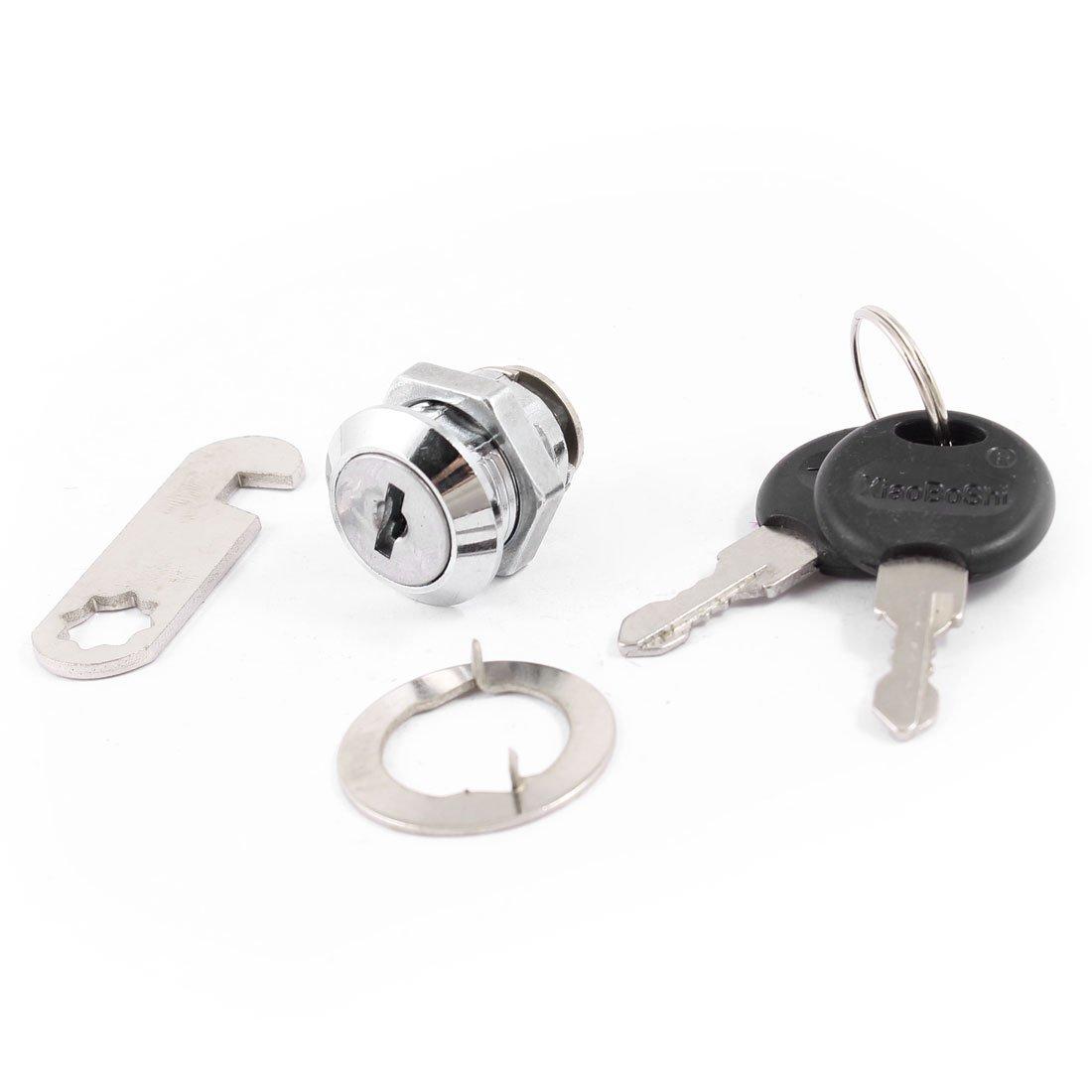 28/mm hauteur Bo/îte aux lettres replacemet de s/écurit/é en m/étal Cam Lock w 2/Cl/és