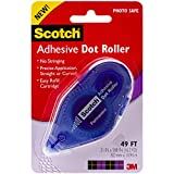 Scotch Adhesive Dot Roller, 1/3-Inch x 49-Feet, (055)