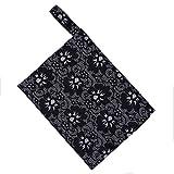 Hot Sale! AMA(TM) Reusable Washable Wet Bag for Menstrual Pads Mama Cloth Sanitary Towel Pads (C)