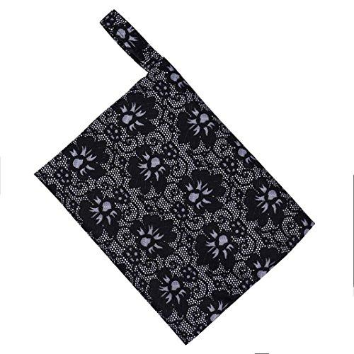 (Hot Sale! AMA(TM) Reusable Washable Wet Bag for Menstrual Pads Mama Cloth Sanitary Towel Pads (C))