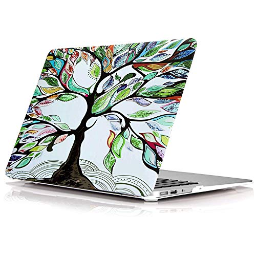 YMIX  Plastic Cover Snap on Hard Protective Case for MacBook Air 11(A1370 & A1465) , #Love Tree