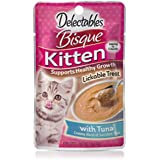 Delectables Bisque Kitten Lickable Wet Cat Treats - Tuna - 12 Pack