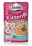 Delectables Bisque Kitten Lickable Wet Cat Treats – Tuna – 12 Pack For Sale