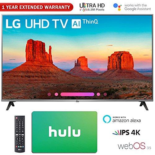 "LG 65"" Class 4K HDR Smart LED AI UHD TV w/ThinQ 20..."