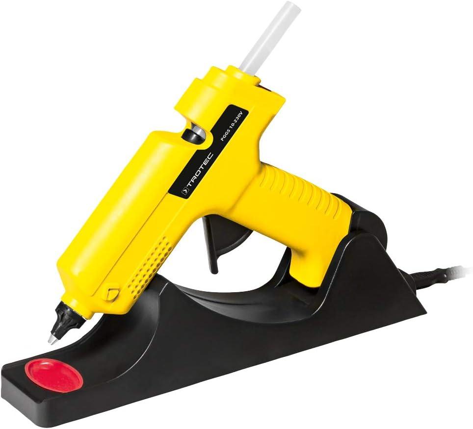 TROTEC Pistola de pegamento caliente PGGS 10-230V, 25 W, Con Boquillas Intercambiables, Decoración, Artesanías