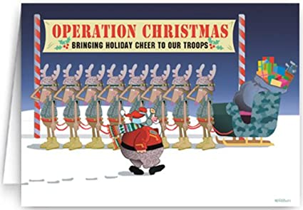 militarypatriotic theme christmas card 18 cards 19 envelopes