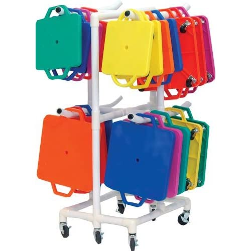 Image of Equipment Carts Champion Sports Durable ABS Scooter Storage Cart