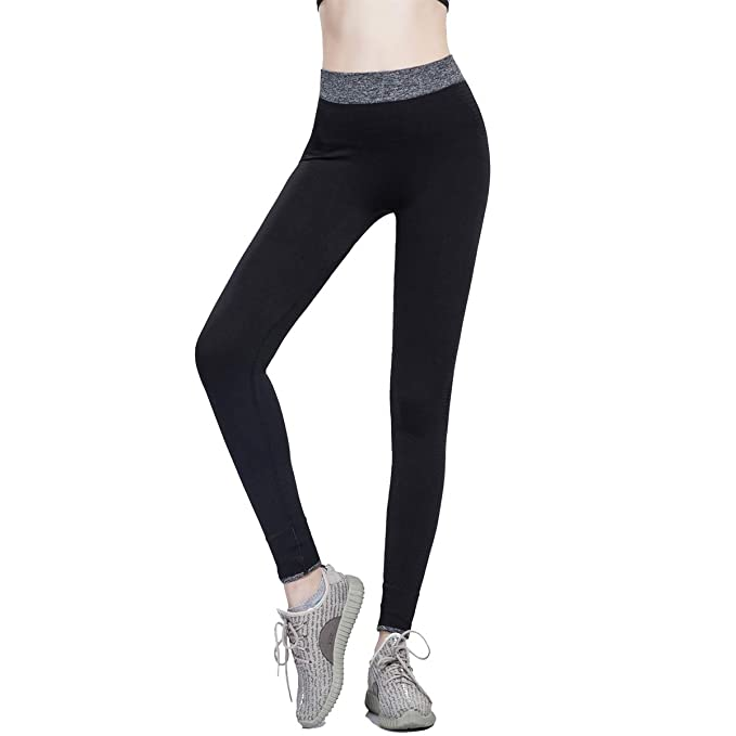 87e84710f5738 Rostiumise Womens Quick Drying Tummy Control Fitness Tights Pants for Yoga,  Workout, Running,