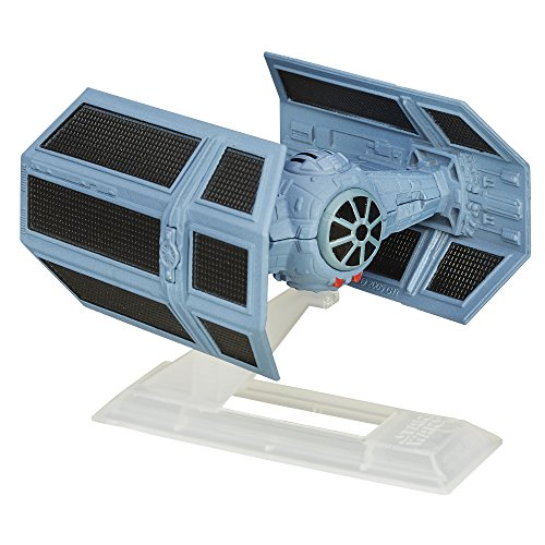 Star Wars: Episode IV A New Hope Black Series Titanium Darth Vader's TIE Advanced (Star Wars Black Series Titanium Tie Fighter)