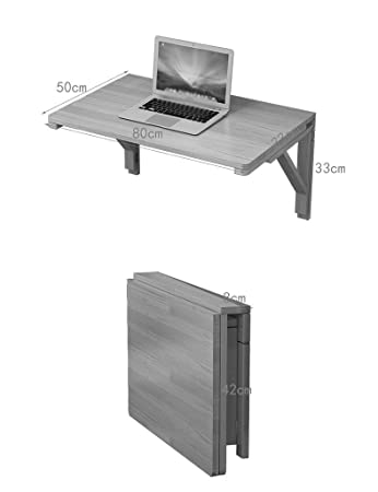 TXX Mesa creativa Mesa plegable de madera maciza Mesa colgante ...