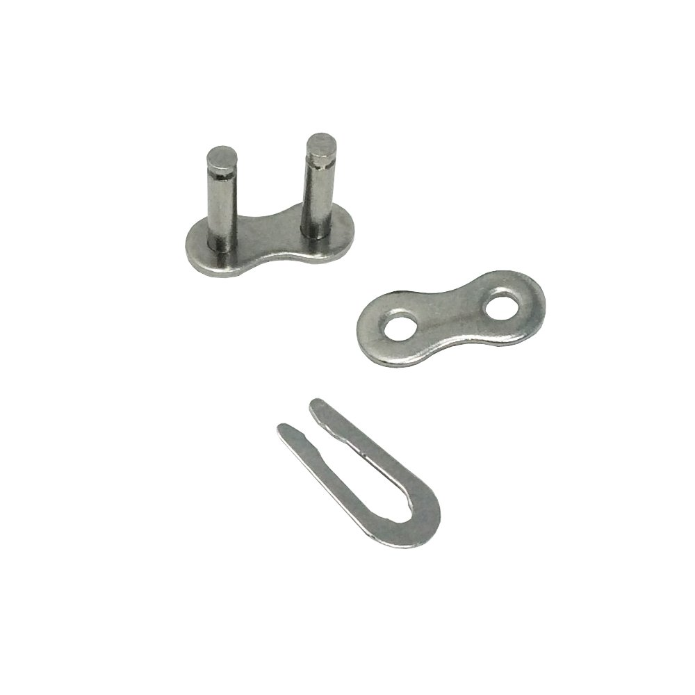 KOVPT SS 4-Pack #40 Stainless Steel Roller Chain Connector Connecting Links