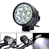 TianNorth® 12000LM 8x CREE XML XM-L T6 LED Cycling Bicycle Bike Light Lamp ...