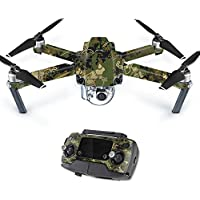 MightySkins Skin For DJI Mavic – Viper Woodland Protective, Durable, and Unique Vinyl Decal wrap cover | Easy To Apply, Remove, and Change Styles | Made in the USA