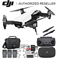 DJI Mavic Air Drone Quadcopter (Arctic White) Ultimate Travel Bundle