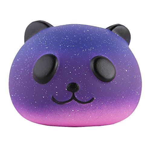 "Top Anboor 3.3"" Squishies Panda Bread Jumbo Slow Rising Kawaii Scented Soft Galaxy Bun Animal Squishies Toys Color Random"