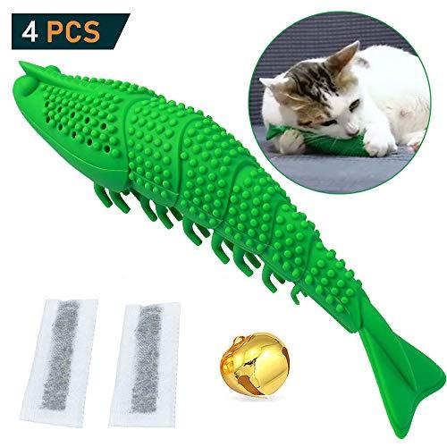 GingerUP katzenspielzeug Katzenminze, interaktives Spielzeug für Katzen, Kätzchen, Katzen, Zähne, Reinigung, Zahnpflege…