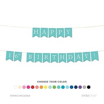 Amazon.com: Andaz Press - Banderín colgante para fiesta de ...