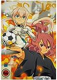 Promo Poster Inazuma Eleven Go Chrono Stone Aikatsu! Ranmaru Gabriel Riccardo Mikuru Mizuki A7724