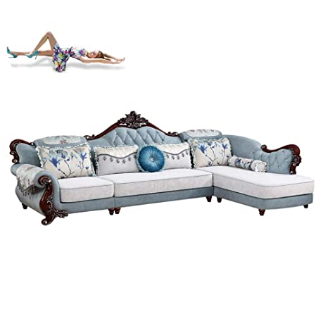 WSN Rinconera sofá,Sofá con Chaise Reversible Sofá ...