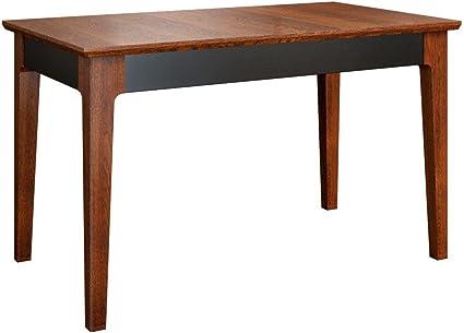 Tavolo da cucina 130 x 80 cm in legno di rovere massiccio
