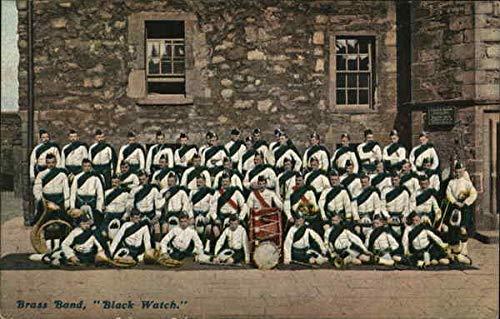 Brass Band Black Watch Other United Kingdom Original Vintage Postcard from CardCow Vintage Postcards