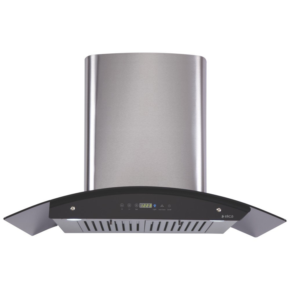 Elica Kitchen Chimney Auto Clean Touch Control With Baffle Filter 90 ...