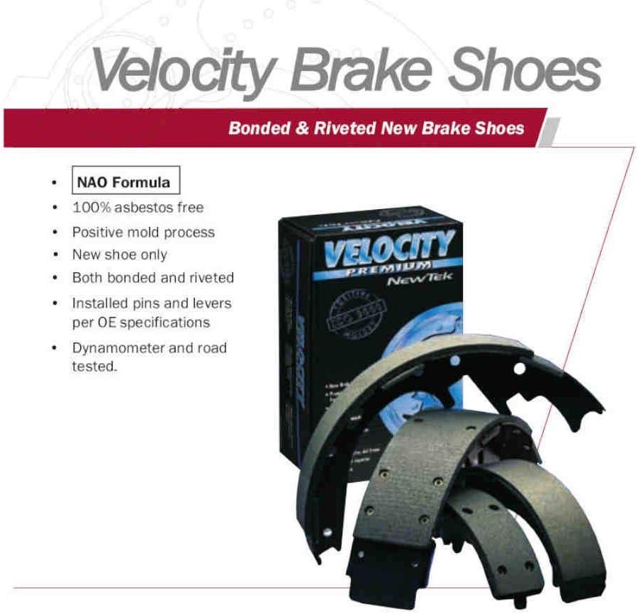 Newtek Automotive Distribution NR705 Rear New Brake Shoes