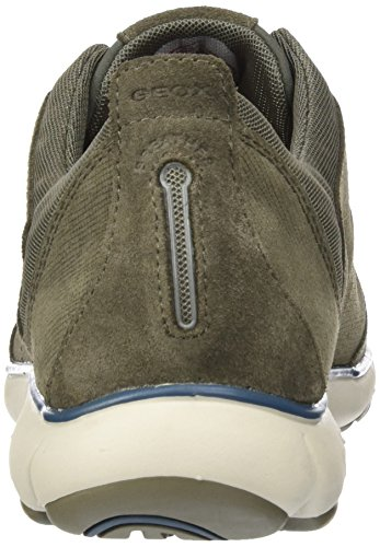 Geox Taupe Brown U Top Men C Nebula Sneakers Low rOgr8qw