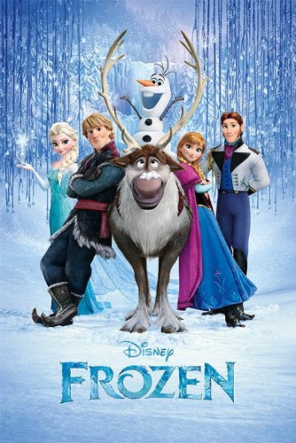 POSTER STOP ONLINE Frozen - Disney Movie Poster (The Cast) (Size: 24