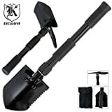 Folding Camping Survival Shovel with Pick, Outdoor Stuffs